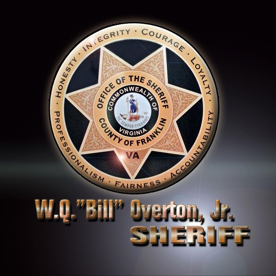 Badge with Overton name
